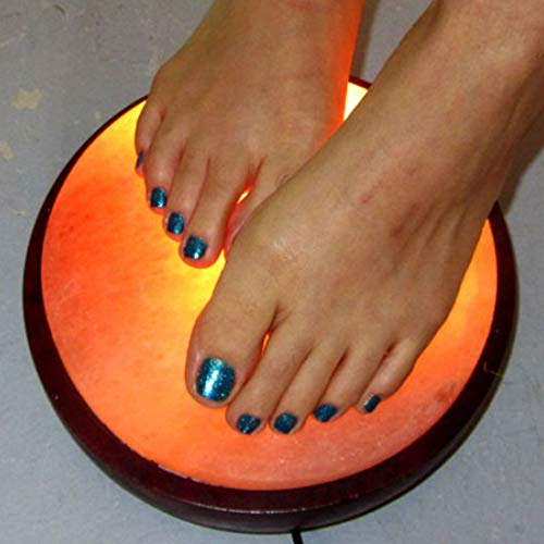 Himalayan Foot Detox Dome Salt Lamp   Remove Toxins & Relax Tired & Achy Feet   8-11lbs by Himalayan Glow (Image #4)