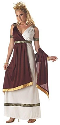 Roman Empress Greek Goddess Adult Costume Different Sizes ()