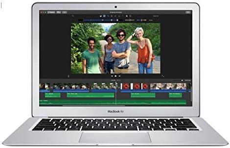Apple 13in MacBook Air (2017 Version) 1.8GHz Core i5 CPU, 8GB RAM, 256GB SSD, Silver, MQD42LL/A (Renewed) 41cmqsK89OL