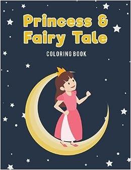 Princess & Fairy Tale Jumbo Coloring Book