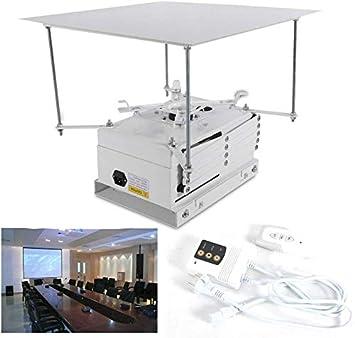 DiLiBee Soporte para proyector eléctrico de 100 cm, Soporte de ...
