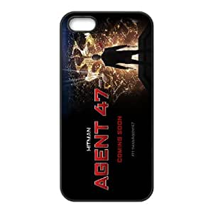 iPhone 5,5S Protective Phone Case HITMAN AGENT 47 ONE1231347