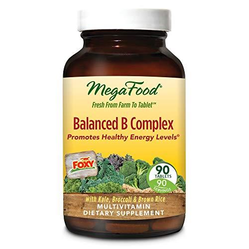MegaFood - Balanced B Complex, Promotes Energy Production, A