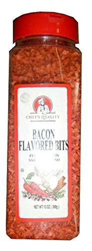 Chefs Quality: Bacon Flavored Bits 13 Oz (2 Pack) by Chef's Quality
