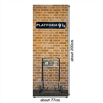 77 * 200cm Harry Potter Cartel De La Película Magic Platform ...