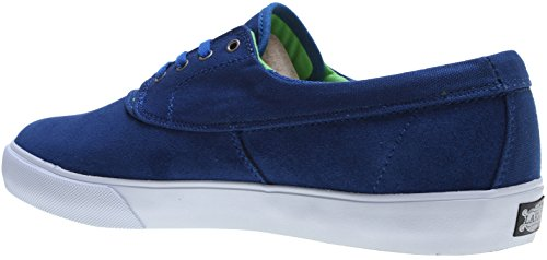 Lakai Mens Camby Skate Shoe Royal Camoscio