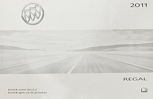 2011 Buick Regal Owner's Manual Guide Book ()