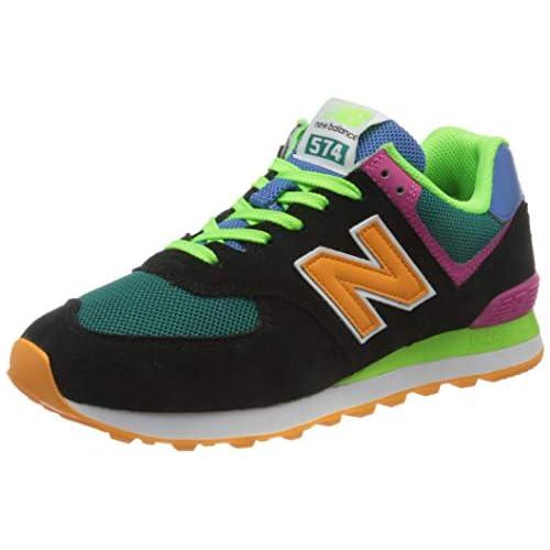 chollos oferta descuentos barato New Balance 574 ML574MA2 Medium Zapatillas Hombre Black Black MA2 37 EU