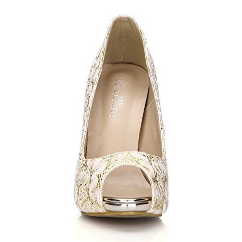 Fine De Plata Silver Bodas Alto Zapatos Mayor Cena Único Pescado Zapato Para El Talón Viento Punta Muelle Nuevo China Oro Producto qAAwz1xf