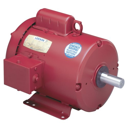 3/4 hp 1725rpm 56 Frame TEFC (Farm Duty) 115/208-230 volts Leeson Electric Motor # 110087 by Leeson