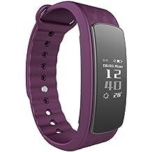 Smart Fitness Tracker LINTELEK Smart Band Step Counter Sleep Monitor Wireless Pedometer Bluetooth 4.0 IP67 Waterproof...