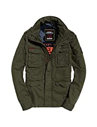 Superdry Men's Classic Rookie Jacket, Green