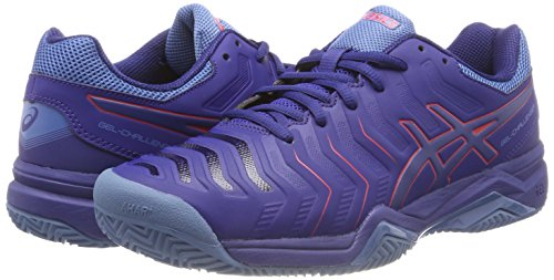 11 Terre Tennis challenger Diva 400 En De Cuite Gel Asics Pink Bleu Chaussures blue Print R8wnEx0q7I