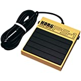KORG PS-1 Single Momentary Pedal Footswitch for MIDI Keyboard