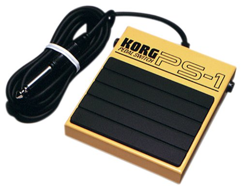 Korg Sustain Pedal (KORG PS-1 Single Momentary Pedal Footswitch for MIDI Keyboard)