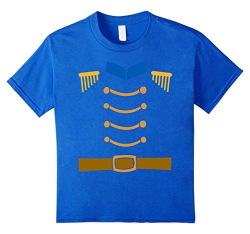 Hit Girl Costume Spirit Halloween - Kids Nutcracker Costume Funny Christmas Shirt Toy Soldier Uniform 6 Royal Blue