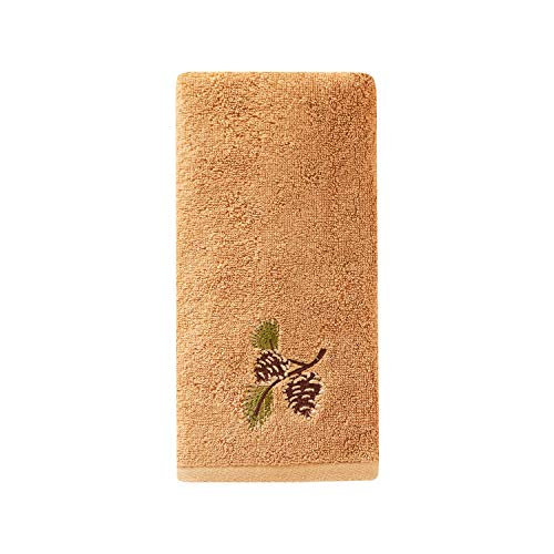 SKL Home by Saturday Knight Ltd. Pinehaven Hand Towel, Wheat ()