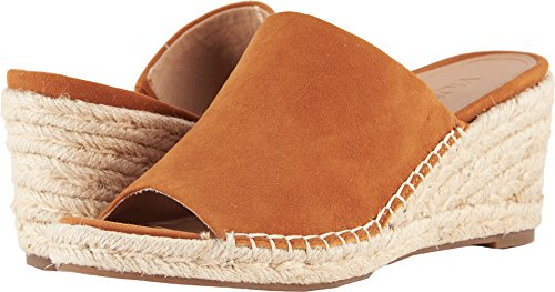 Vionic Tulum Kadyn - Womens Wedge Slip-on Sandal Caramel - 9