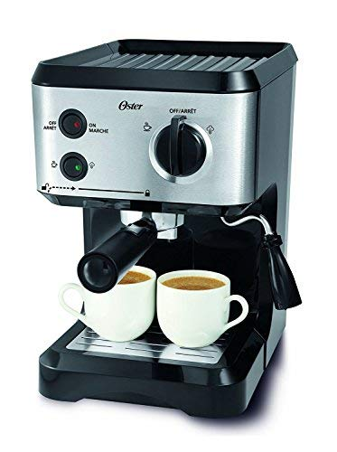 Oster BVSTECMP55 Espresso and Cappuccino Maker 220-volts (Will not work in (Best Oster Cappuccino Makers)