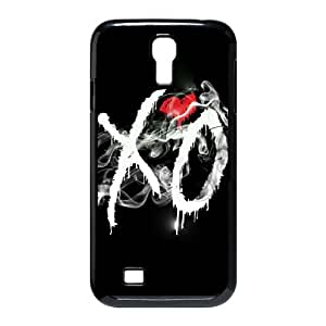 D-PAFD Customized The Weeknd XO Pattern Protective Case Cover Skin for Samsung Galaxy S4 I9500