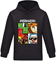 Thombase Kids Unspeakable Funny YouTube Gamer Pullover Hoodies for Boys and Girls Tees Tops Hoody T-Shirt