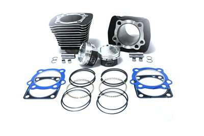 V-Twin 11-0589 - 1200cc Cylinder and Piston Conversion Kit Black