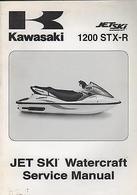 - 2004 KAWASAKI JETSKI 1200 STX-R WATERCRAFT P/N99924-1326-01 SERVICE MANUAL(923)