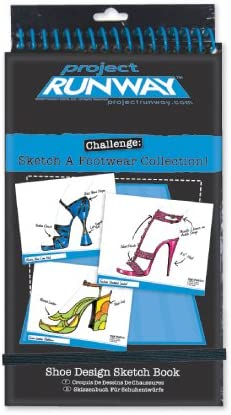 Amazon Com Project Runway Fashion Shoe Design Sketchbook Toys Games