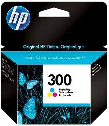 HP 300 CC643EE,Cartucho de Tinta Original Tricolor, Compatible con impresoras de inyección de tinta tinta HP DeskJet D2560, D2660, F4280, F4224, F4283; Photosmart Serie C: Hp: Amazon.es: Oficina y papelería
