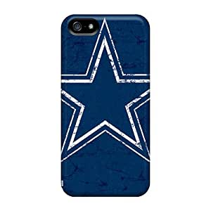 Fashion Case For Iphone 5/5s- Dallas Cowboys Defender Case Cover