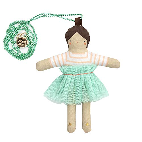 Meri Meri Lila Doll Necklace - Necklace Gold Lila