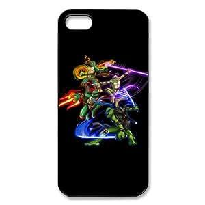Customized iPhone Case Teenage Mutant Ninja Turtle Printed Durable Hard iPhone 5 5S Case Cover by ruishername