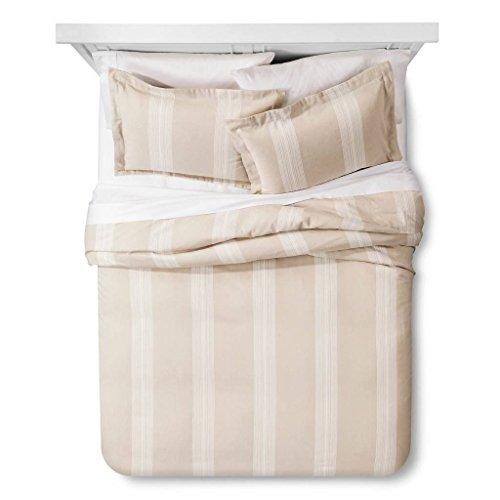 Fieldcrest Luxury® Yarn Dye Stripe Duvet & Sham Set - King