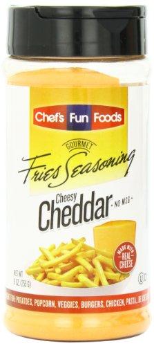 ings Bottle, Cheesy Cheddar, 9 Ounce (Gourmet Cheddar)