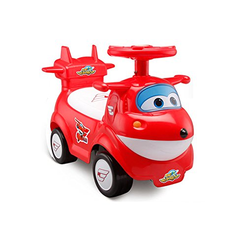 Super Wings Ride-On Push Car (Red (Hogi))