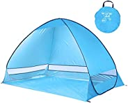 Portable Beach Shade Tent, Pop Up Beach Tent, Alice Dreams Children Sun Shade Instant Tent with a Carry Bag fo