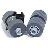 YANZEO PA03338-K011 Pick Roller Set of 2 Rollers for Fujitsu FI-5750C FI-6670 and FI-6770 5650C FI-5650C 5750 Scanners