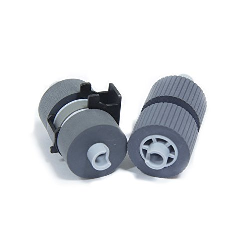YANZEO PA03338-K011 Pick Roller Set of 2 Rollers for FI-5750C FI-6670 and FI-6770 5650C ...