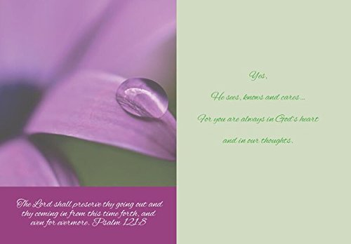 Gracefully Yours Paths of Life/Life Lessons Thinking of You Greeting Cards, 12, 4 designs/3 each with Scripture Message Photo #3