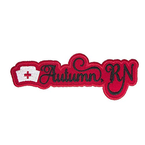Nurse Hat Name Personalized Applique Patch - Iron on patch