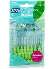 TePe 115260 Original Interdentale Borstel, Groen, Maat 5: 0,8 mm, 1 x 8 Interdentale Borstels