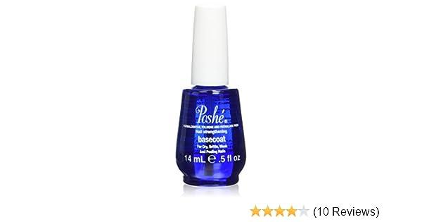 Amazon.com : Poshe Nail Strengthening Treatment Base Coat, 0.5 Fluid ...