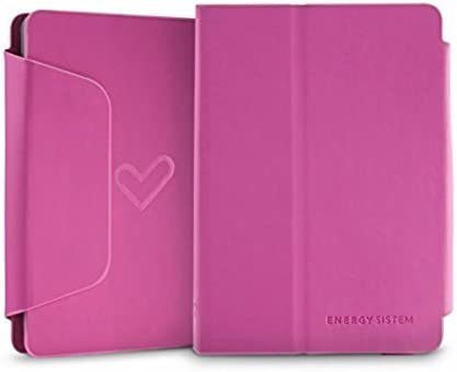 Energy Sistem - Funda exclusiva eReader e4 Mini, color rosa ...