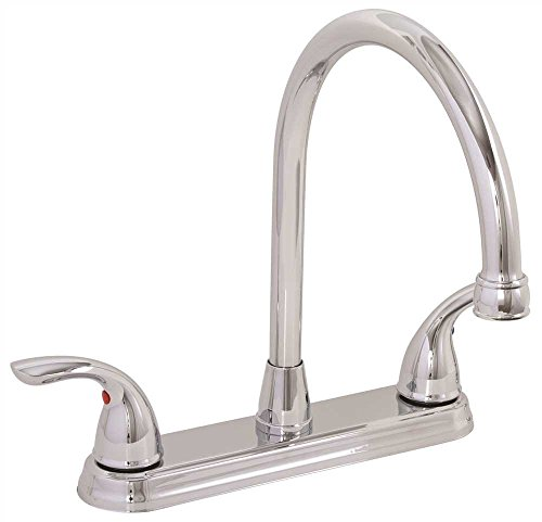 PREMIER GIDDS-120445LF Westlake Kitchen Faucet with Two Handles, Chrome, Lead Free