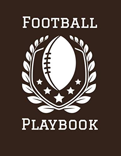 Football Playbook: 2019-2020 Coaching Notebook, Blank Field Pages, Calendar, Game Statistics, Roster (Best Youth Football Defense)