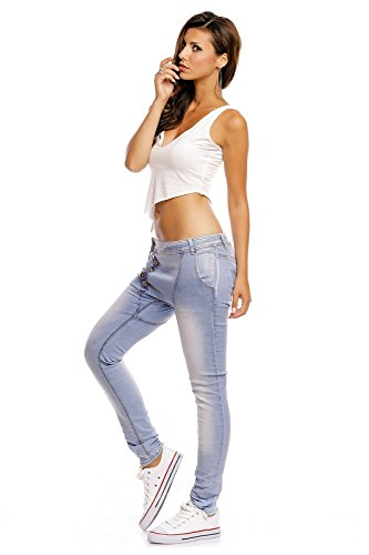 Hellblau Donna Realty Jeans Jeans Donna Realty Hellblau nRqY14pS