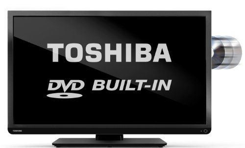 "Toshiba 32D1333 32"" HD Ready LED TV with Freeview and built-in DVD player"