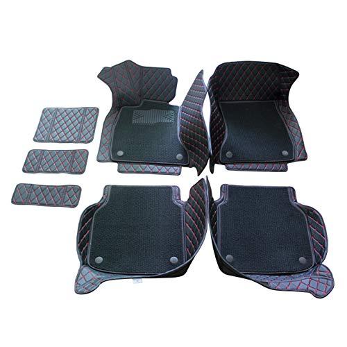 Kanredi Custom Fit Luxury XPE Leather Full car Floor Mats Waterproof for BMW 5 Series 525i 520i 530i 535i 550i 528i Double Layer, Beige
