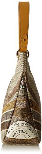 L 13x33x38 Gattinoni Donna a x Borsa cm Beige x Deserto Spalla Gacpu0000099 W H 44FUnx1P