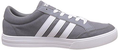 Set White Basso Vs adidas Grigio Uomo Ftwr Grey Sneaker Collo a 7qCgxPvw5
